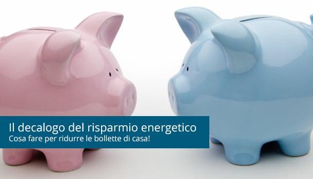 Studenti fuorisede: il decalogo del risparmio energetico