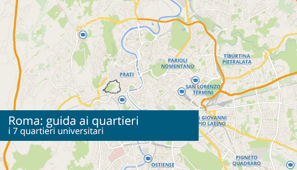 Guida ai quartieri universitari di Roma