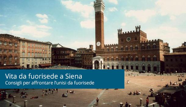 Vita da fuorisede a Siena