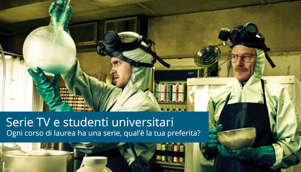 Serie tv,ogni studente universitario ha la sua preferita!