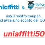 Collaborazione con Belvoto.it <br/>[promo code uniaffitti50]
